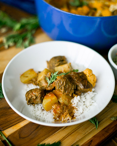 New Zealand grass-fed curried lamb stew recipe 1