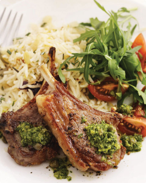 New Zealand grass-fed lamb chops recipe