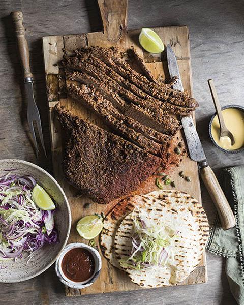 New Zealand grass-fed southwestern braised beef brisket recipe 1
