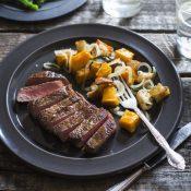 Watermarked Steak & Winter Pumpkin Panzanella