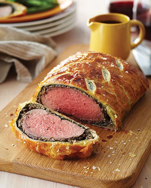 New Zealand grass-fed beef wellington recipe 1
