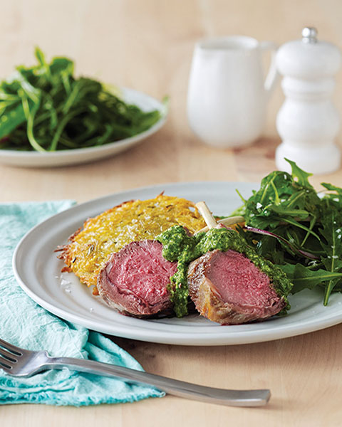 New Zealand grass-fed rack of lamb recipe 1