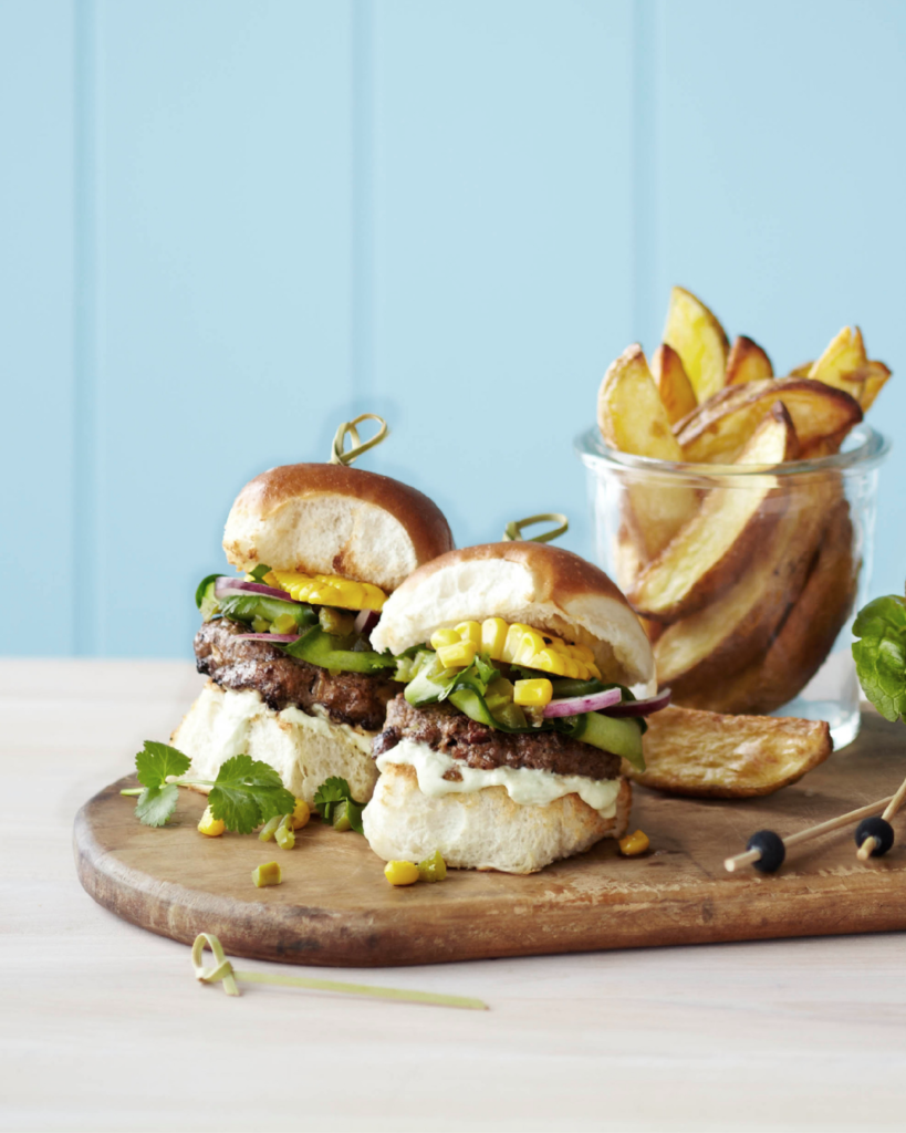 New Zealand Grass-fed Mexican Beef Sliders Recipe