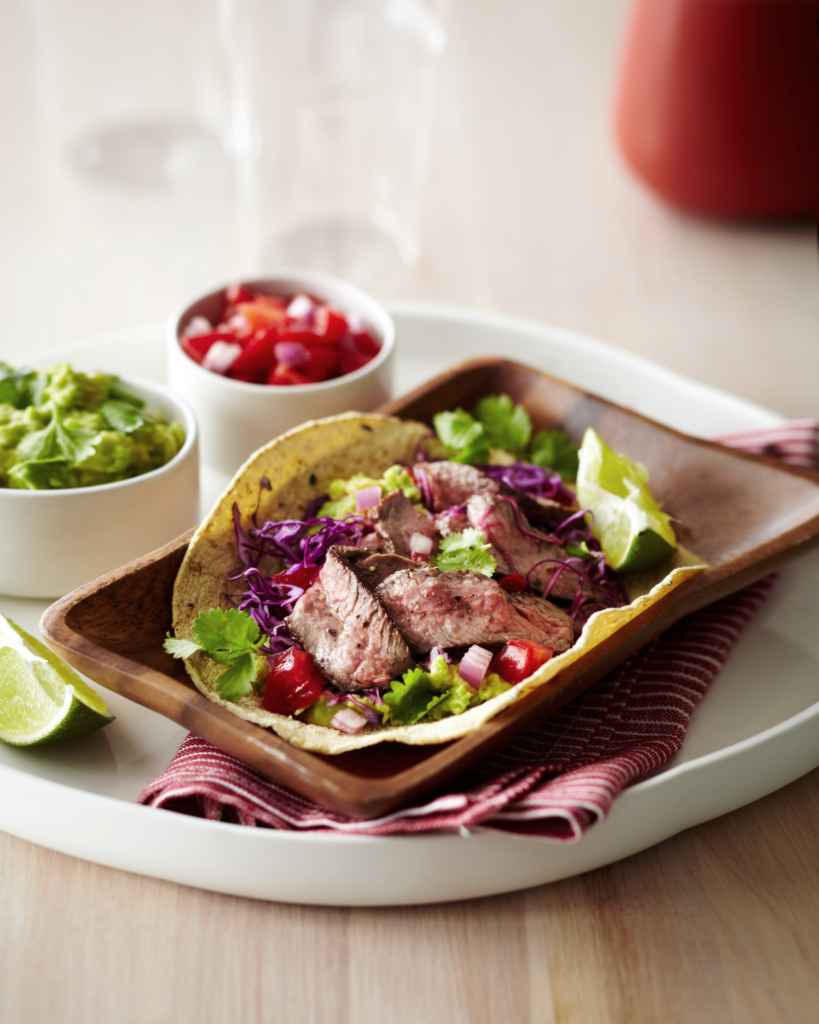 Street-Style New Zealand Grass-Fed Beef Tacos Recipe