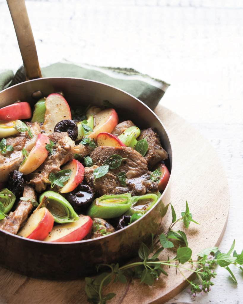 New Zealand Grass-Fed Lamb and Apple Cider Braise Recipe