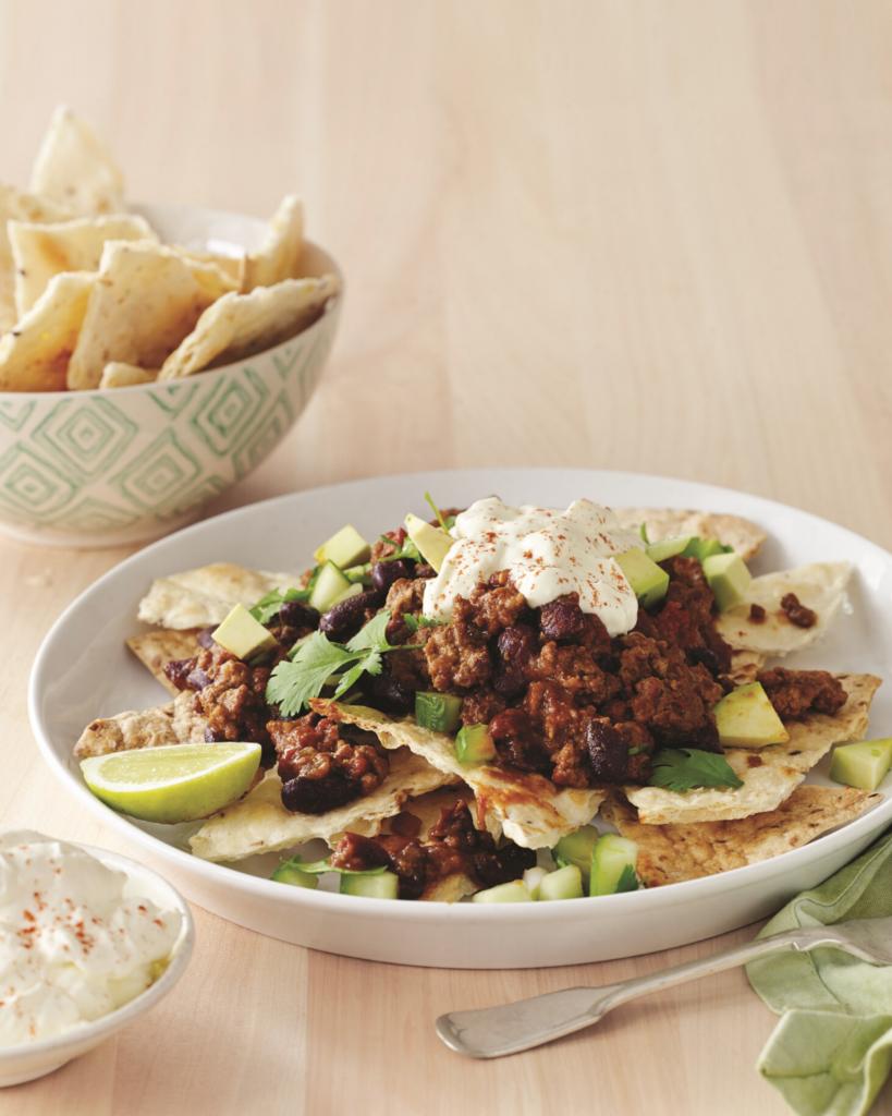 New Zealand Grass-Fed Beef Nachos with Avocado Salsa Recipe