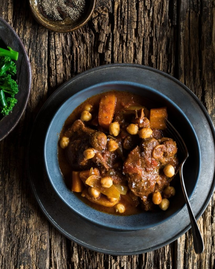 New Zealand Grass-fed Lamb and Chickpea Stew Recipe