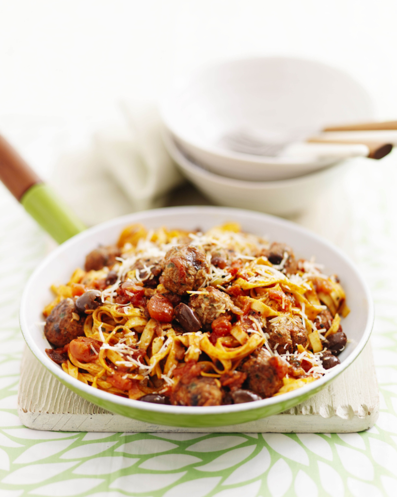 New Zealand Grass-fed Spiced Lamb Meatballs in Tomato Sauce Recipe