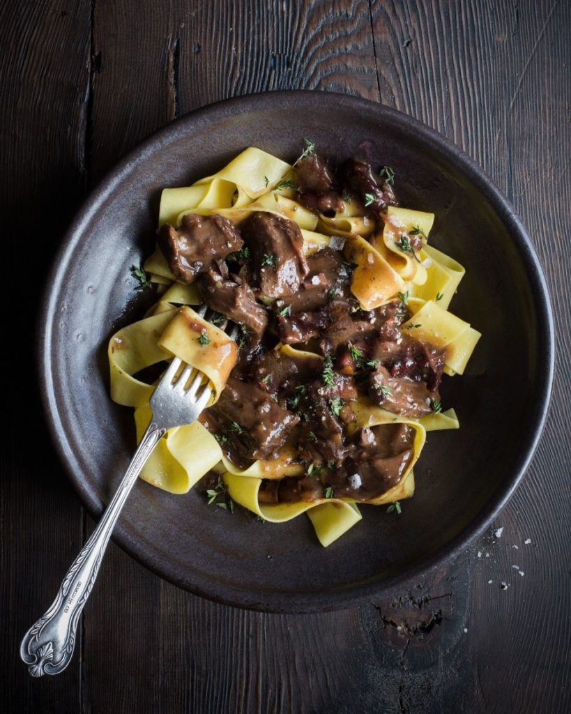 New Zealand Grass-fed Beef Ragout on Pappardelle Recipe