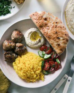 New Zealand Grass-fed Lamb Kofta Recipe from A Cozy Kitchen