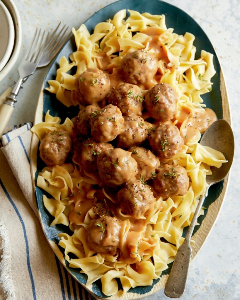 New Zealand Grass-fed Lamb Meatballs Recipe from Spoon Fork Bacon
