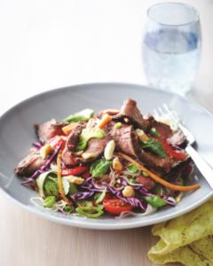 Vietnamese Beef and Noodle Salad Recipe