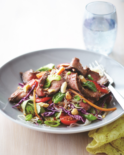 Vietnamese Beef and Noodle Salad Recipe