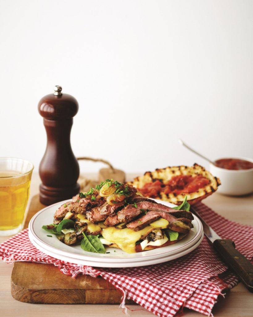New Zealand Grass-fed Steak and Cheese Melt Recipe