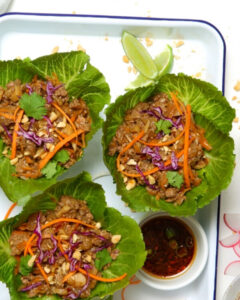 New Zealand Asian Style Lettuce Cups with Grass-fed Lamb Recipe
