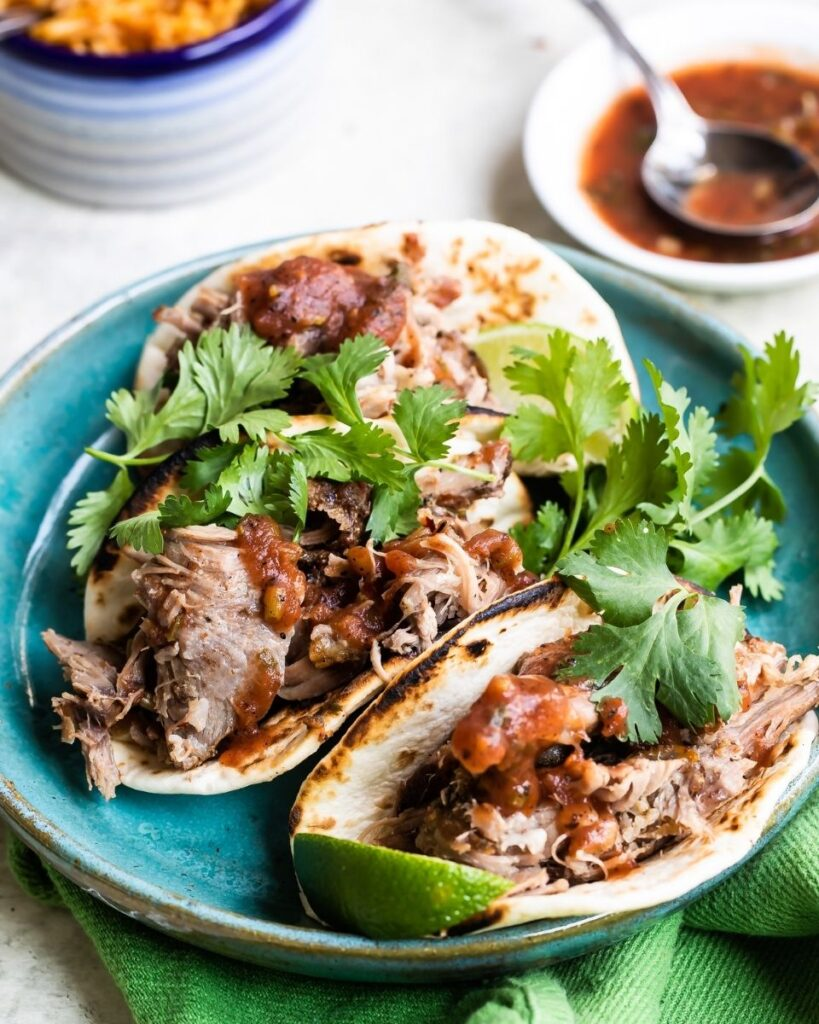 Shredded New Zealand Grass-fed Lamb Tacos Recipe