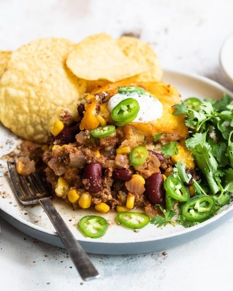 New Zealand Grass-fed Beef Tamale Casserole Recipe