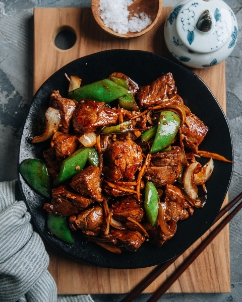 Ginger Lamb Stir Fry Recipe with New Zealand Grass-fed Lamb