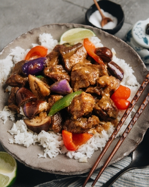 Thai Green Curry with New Zealand Grass-fed Lamb Shoulder Recipe
