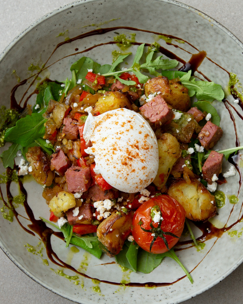 Brunch Beef Hash with New Zealand Grass-fed Recipe