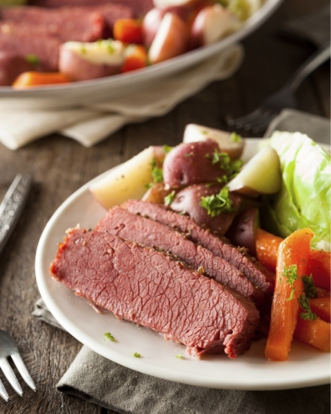 Corned Beef in Ginger Beer with New Zealand Grass-fed Recipe