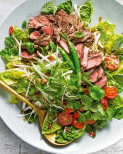 Thai Grass-fed Beef Salad recipe using New Zealand Grass-fed Beef